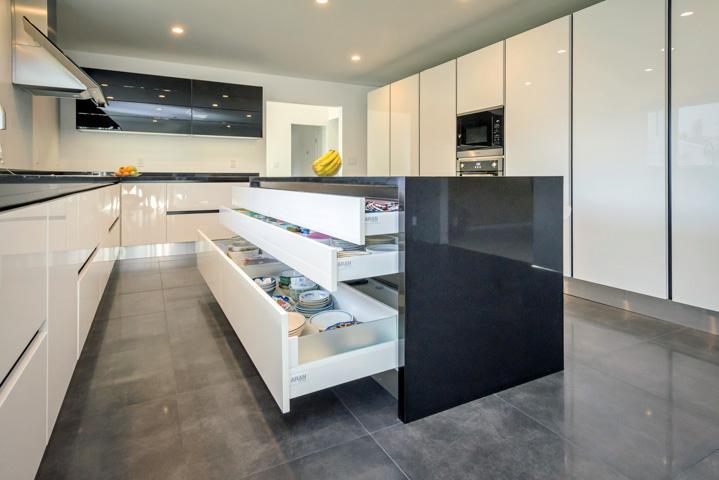 High Gloss Modern Kitchens  OPPEIN Products  Kitchen