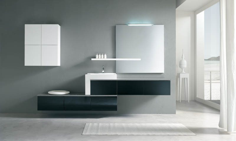 Modern Bathroom Vanities Pi Quadro European Cabinets Design
