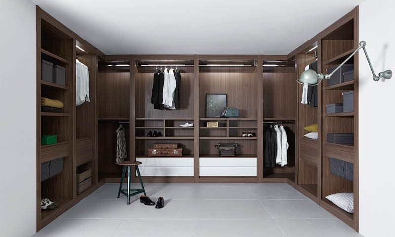 Walk-In Closets by Pianca
