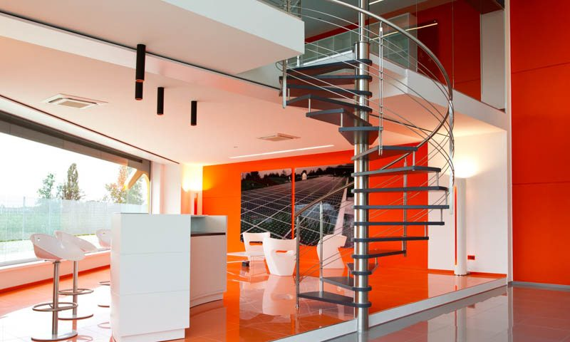 custom staircase design spiral stairs
