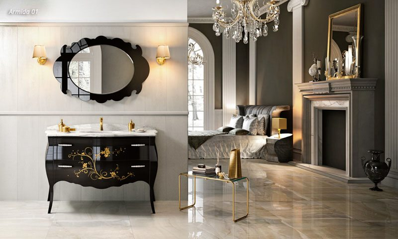 Traditional Bathroom Cabinets Otello European Cabinets Design