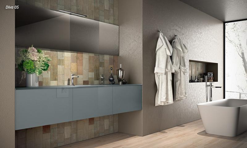 Floating Bathroom Vanity Diva European Cabinets Design Studios