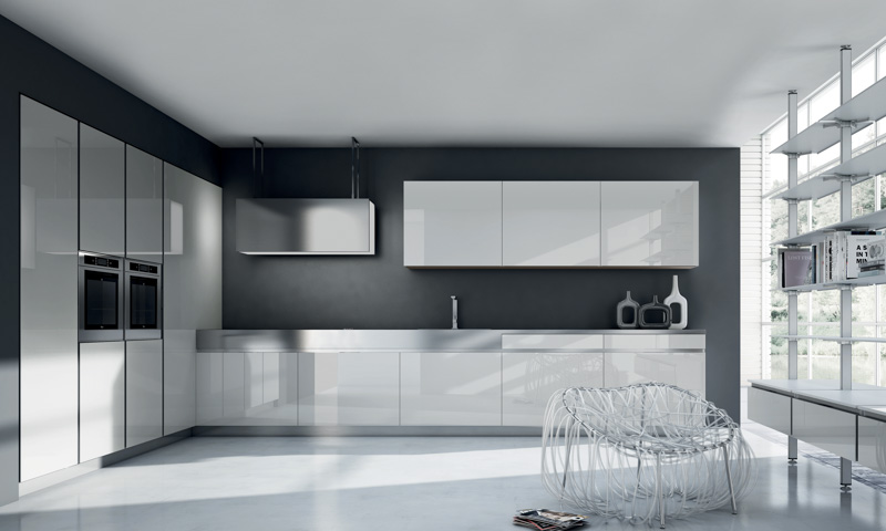 Modern Kitchen Cabinets R1 By Ulisse Narcisi European