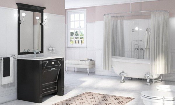 traditional bathroom cabinets vanities