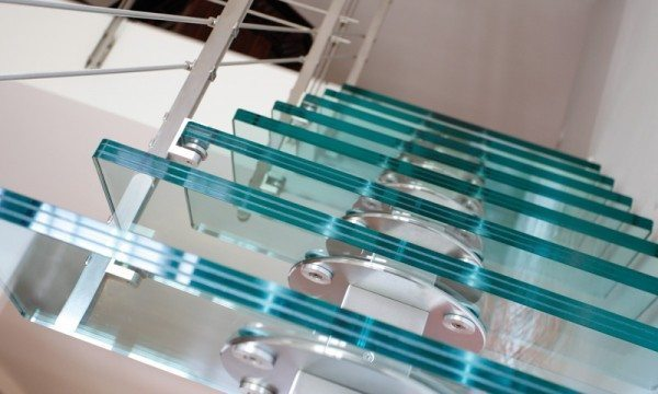 custom staircase design glass stairs